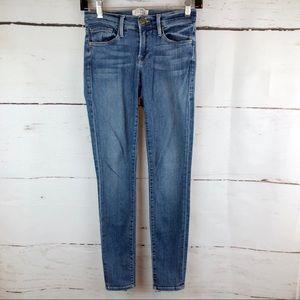Frame   Le Skinny de Jeanne Crop Jean, Size 24